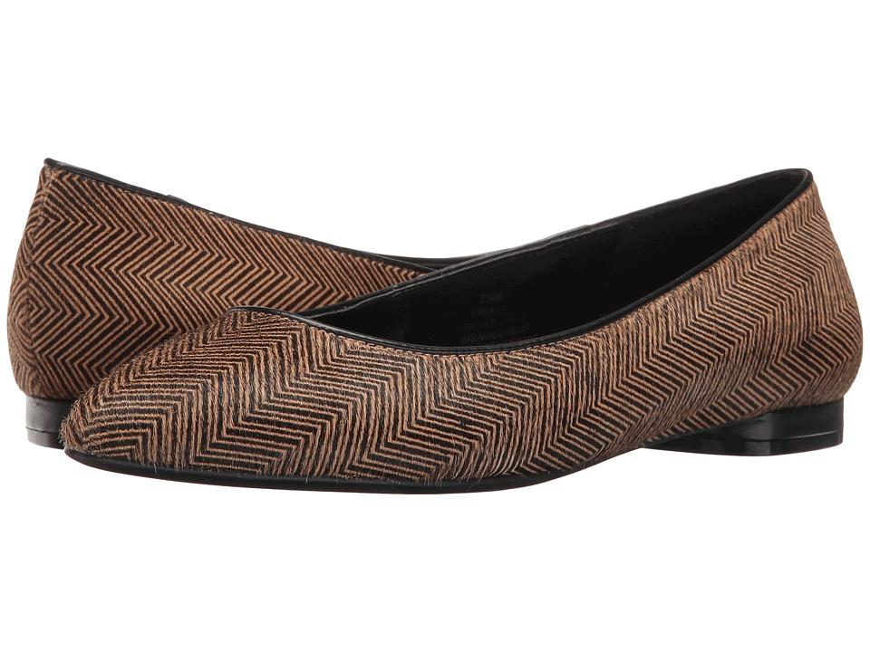 Nine West - Onlee 5 (Natural/Black/Black Pony) Women's Shoes