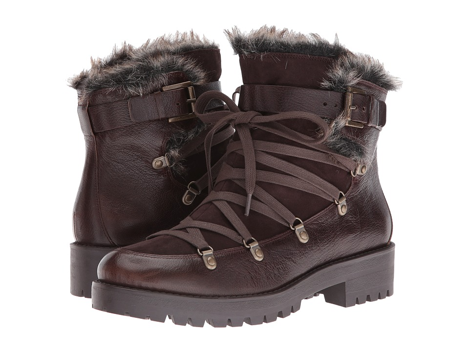 Nine West - Orynne (Dark Brown/Dark Brown Leather) Women's Boots