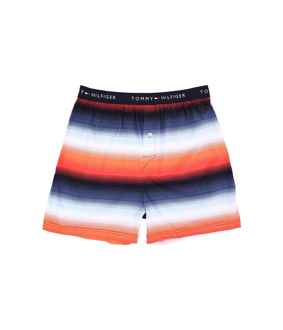 Tommy Hilfiger - Knit Boxer (Spiced Coral) Men's Underwear