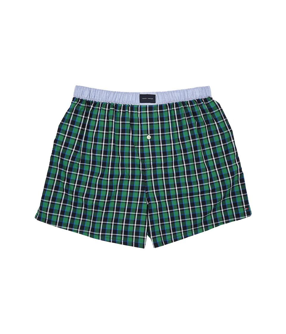 Tommy Hilfiger - Woven Boxer (Chive) Men's Underwear