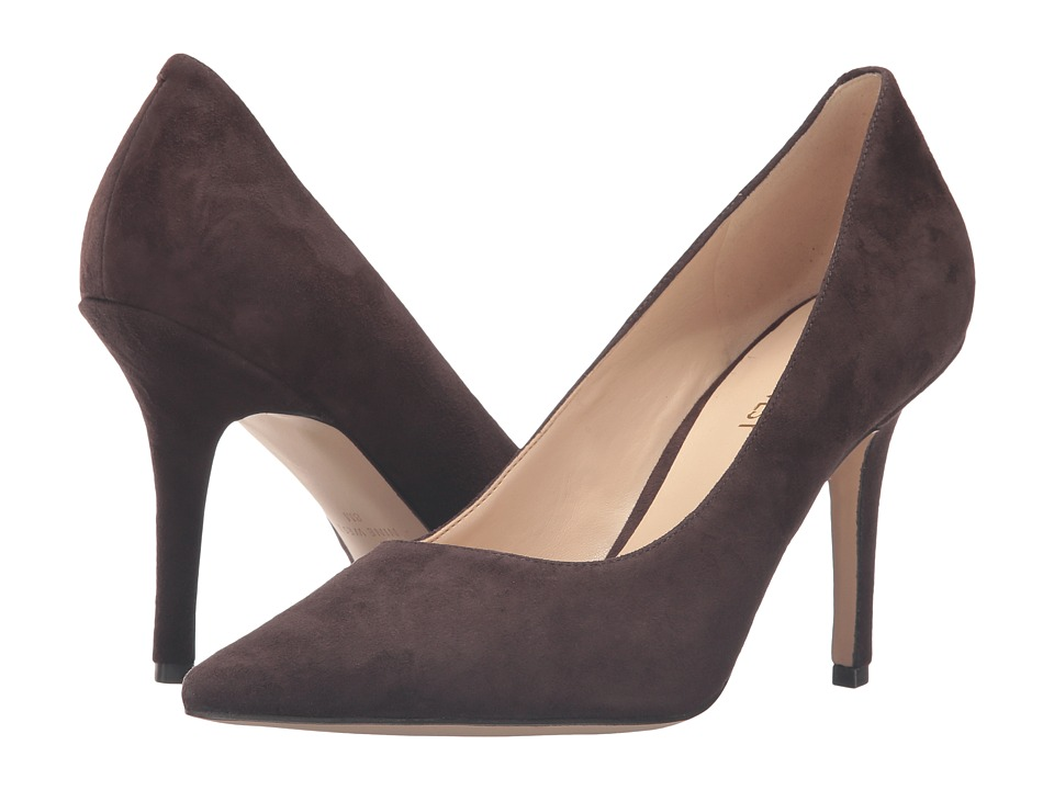 Nine West - Jackpot (Dark Brown Suede 1) High Heels