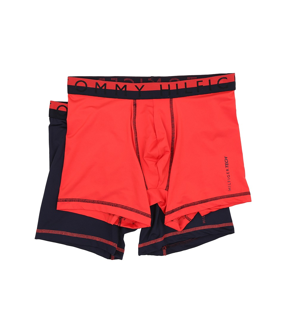 Tommy Hilfiger - Tech Boxer Brief 2-Pack (Hibiscus) Men's Underwear