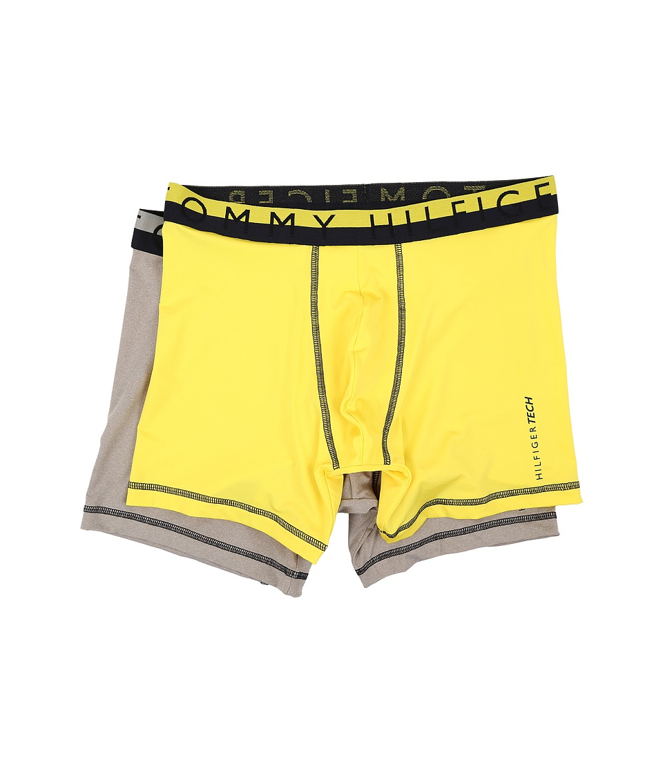 Tommy Hilfiger - Tech Boxer Brief 2-Pack (Sunlight) Men's Underwear
