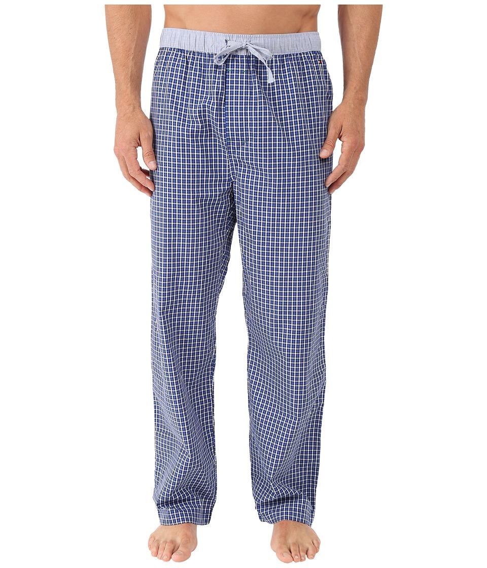Tommy Hilfiger - Poplin Sleep Woven Pants (Sapphire) Men's Pajama