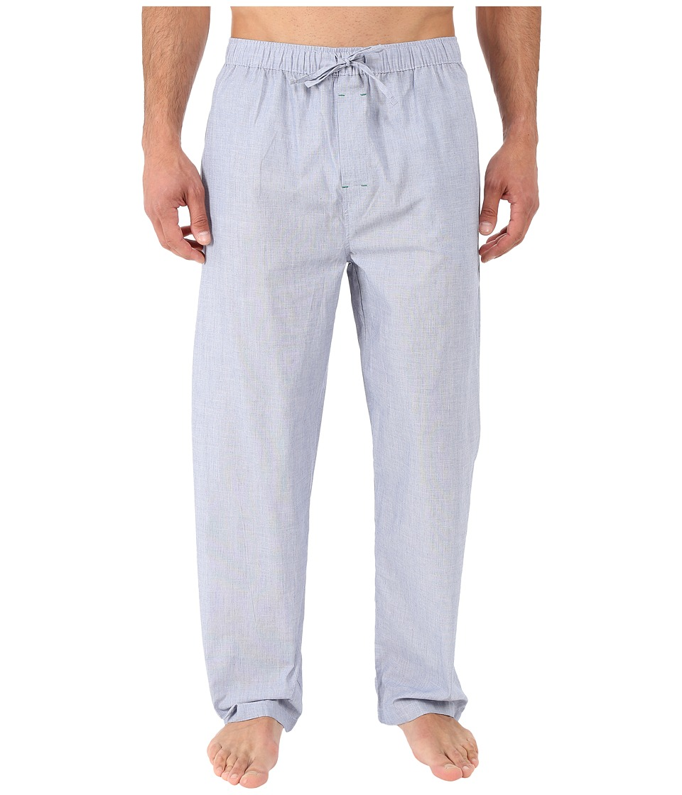 Tommy Hilfiger - Poplin Sleep Woven Pants (Ice) Men's Pajama