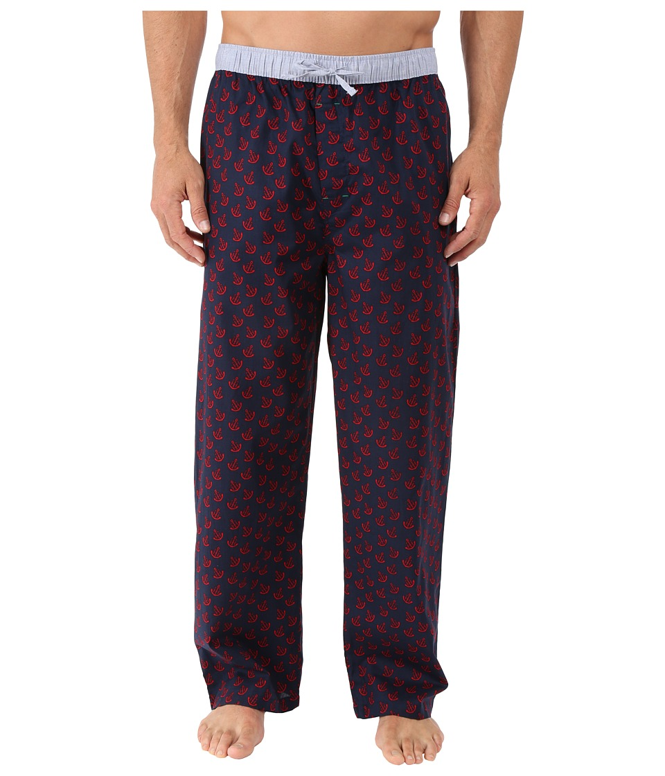 Tommy Hilfiger - Poplin Sleep Woven Pants (Scarlet) Men's Pajama