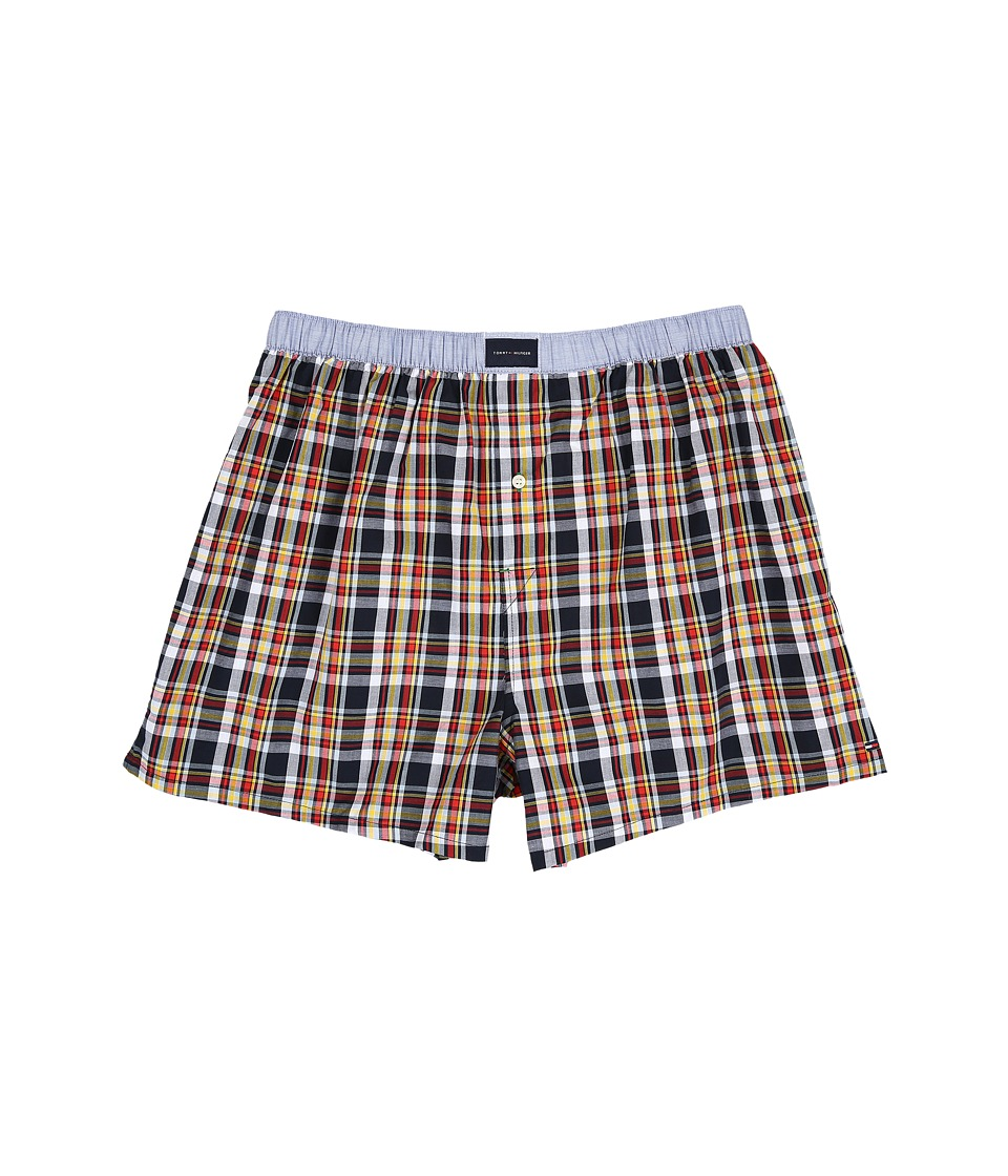 Tommy Hilfiger - Woven Boxer (Midnight) Men's Underwear