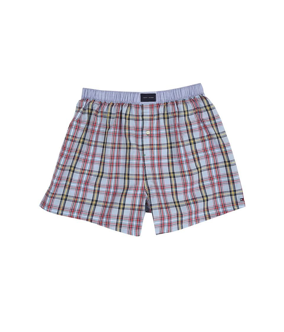 Tommy Hilfiger - Woven Boxer (Blue Bay) Men's Underwear