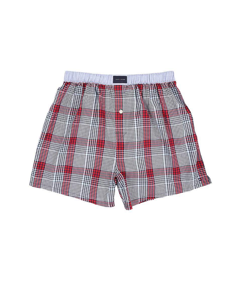 Tommy Hilfiger - Woven Boxer (Medieval) Men's Underwear