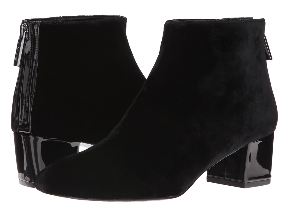 Nine West - Anna 2 (Black/Black Fabric) Women's Boots