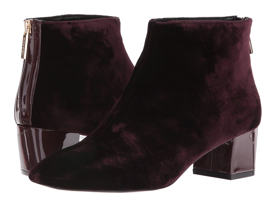 Nine West - Anna 2 (Wine/Wine Fabric) Women's Boots