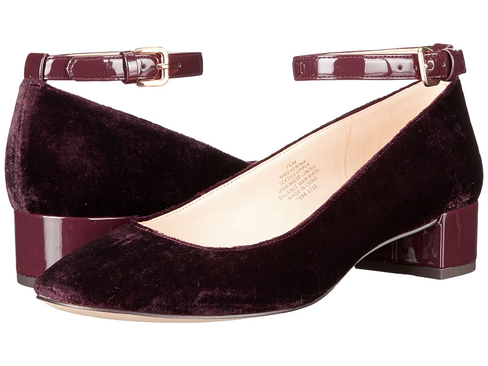 Nine West - Everina 2 (Wine/Wine Fabric) Women's Shoes