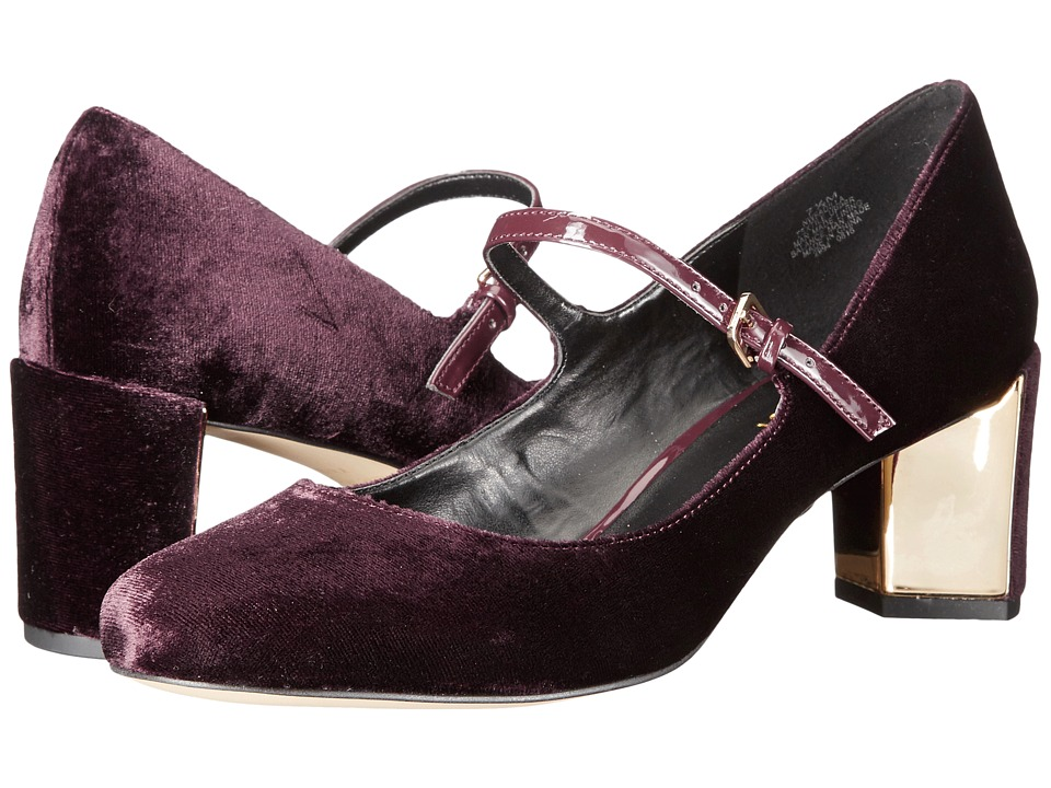 Nine West - Fadilla 2 (Wine/Wine Fabric) Women's Shoes