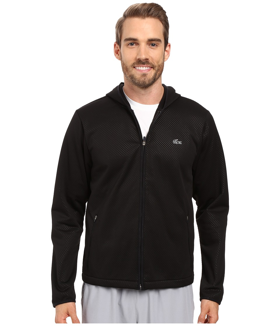 Lacoste - Performance Technical Jacket (Black/Black/Black) Men's Coat