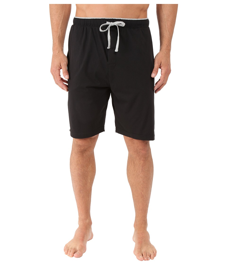 Tommy Hilfiger - Knit Sleep Shorts (Black) Men's Pajama