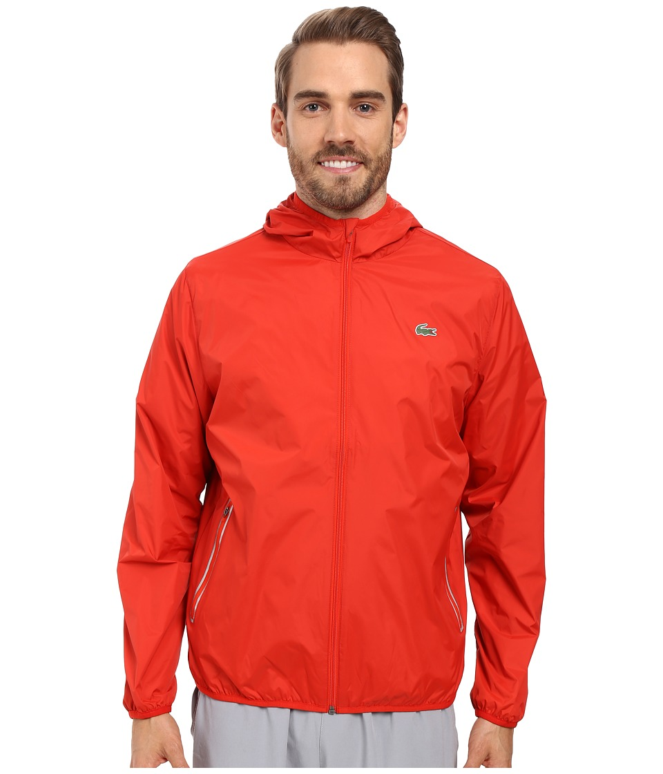 Lacoste - Sport Taffeta Jacket (Matador Red) Men's Coat