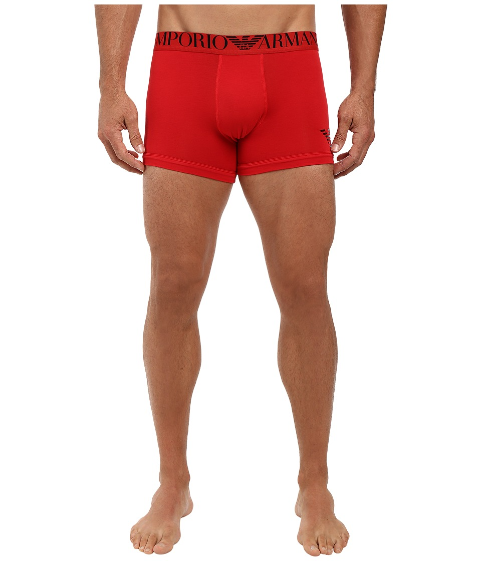 Emporio Armani - Xmas-Mirror Effect Boxer Brief (Red) Men's Underwear