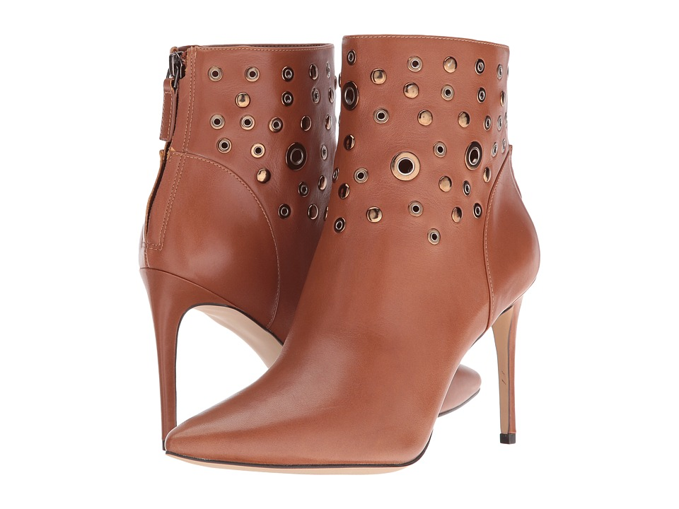 Nine West - Topple (Cognac Leather) Women's Boots