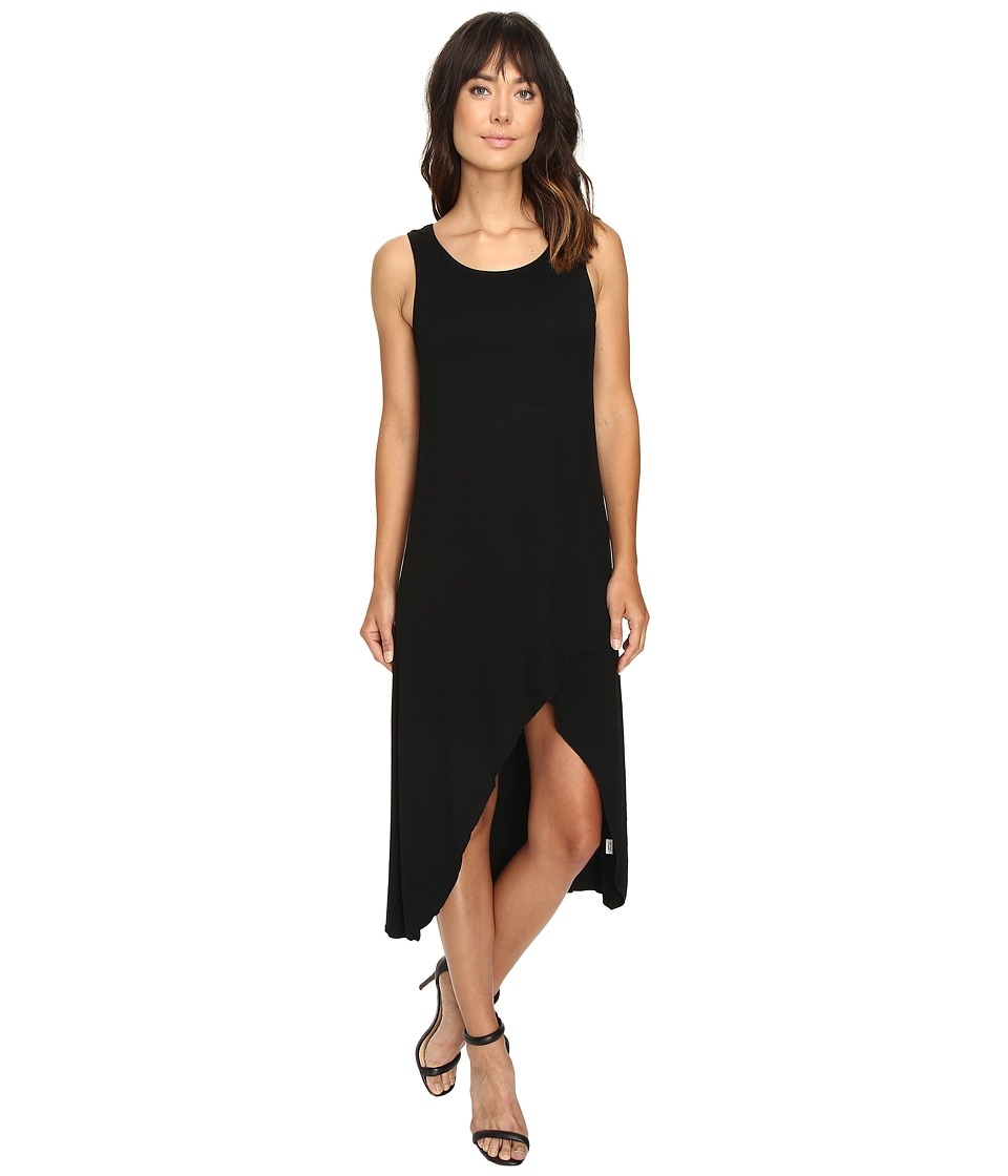 Culture Phit - Flynne Sleeveless Cross-Bottom Dress (Black) Women's Dress
