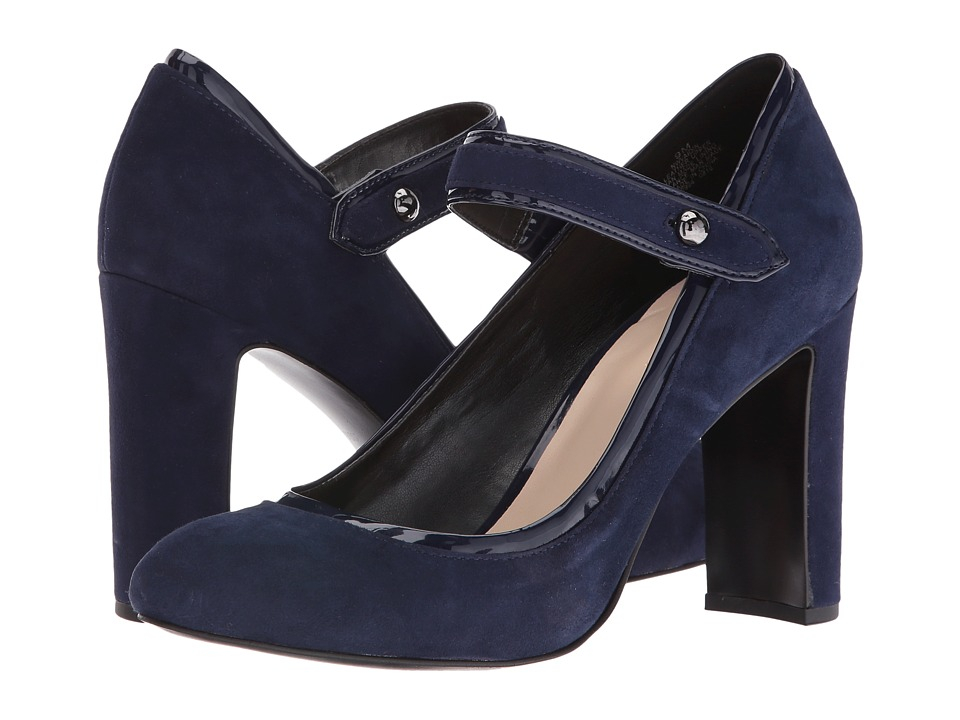 Nine West - Vaidin (Navy/Navy Suede) High Heels
