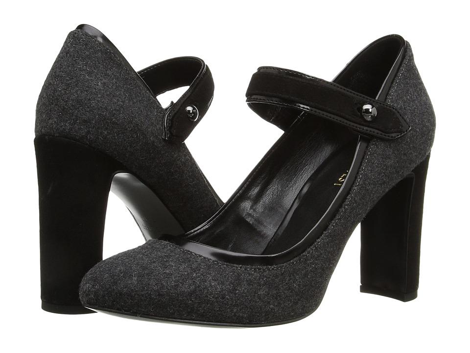 Nine West - Vaidin 2 (Dark Grey Multi Fabric) High Heels