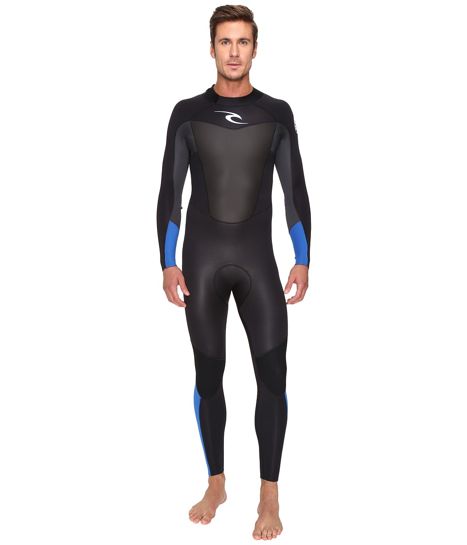 Rip Curl - Omega 3/2 FL STMR (Blue) Men's Wetsuits One Piece