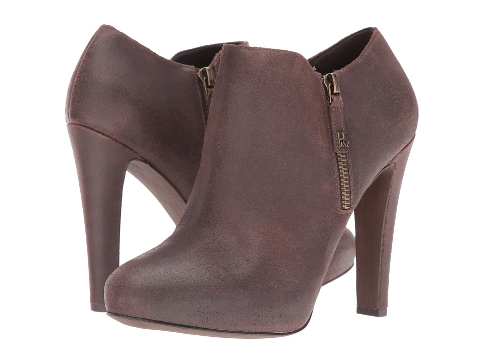 Nine West Binnie (Dark Brown Leather) Women