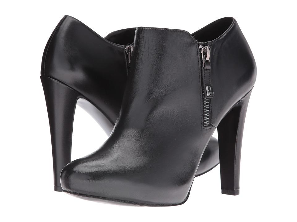 Nine West Binnie (Black Leather) Women