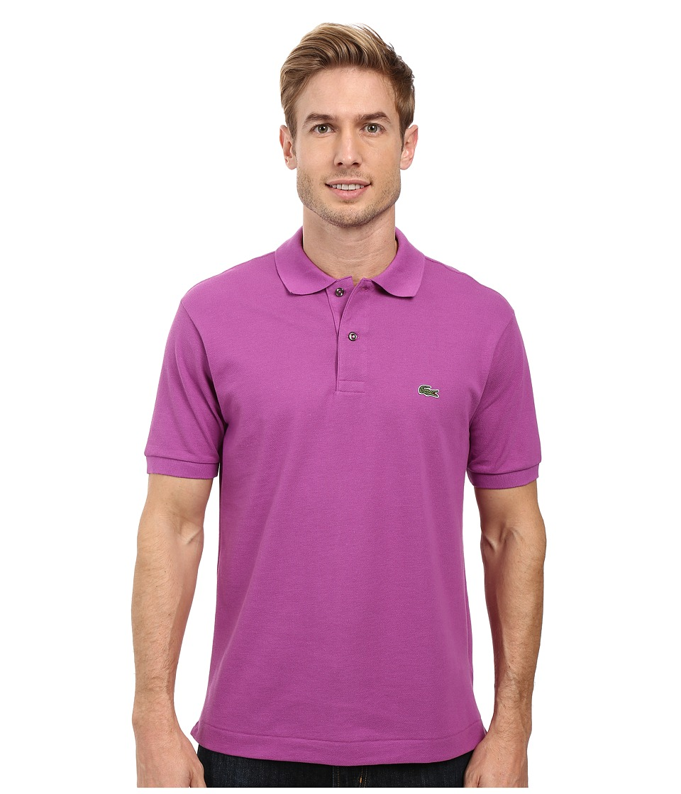 Lacoste - L1212 Classic Pique Polo Shirt (Irresistible) Men's Short Sleeve Knit