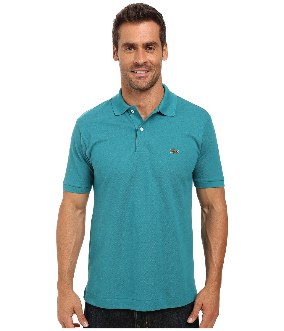 Lacoste - L1212 Classic Pique Polo Shirt (Emerald) Men's Short Sleeve Knit