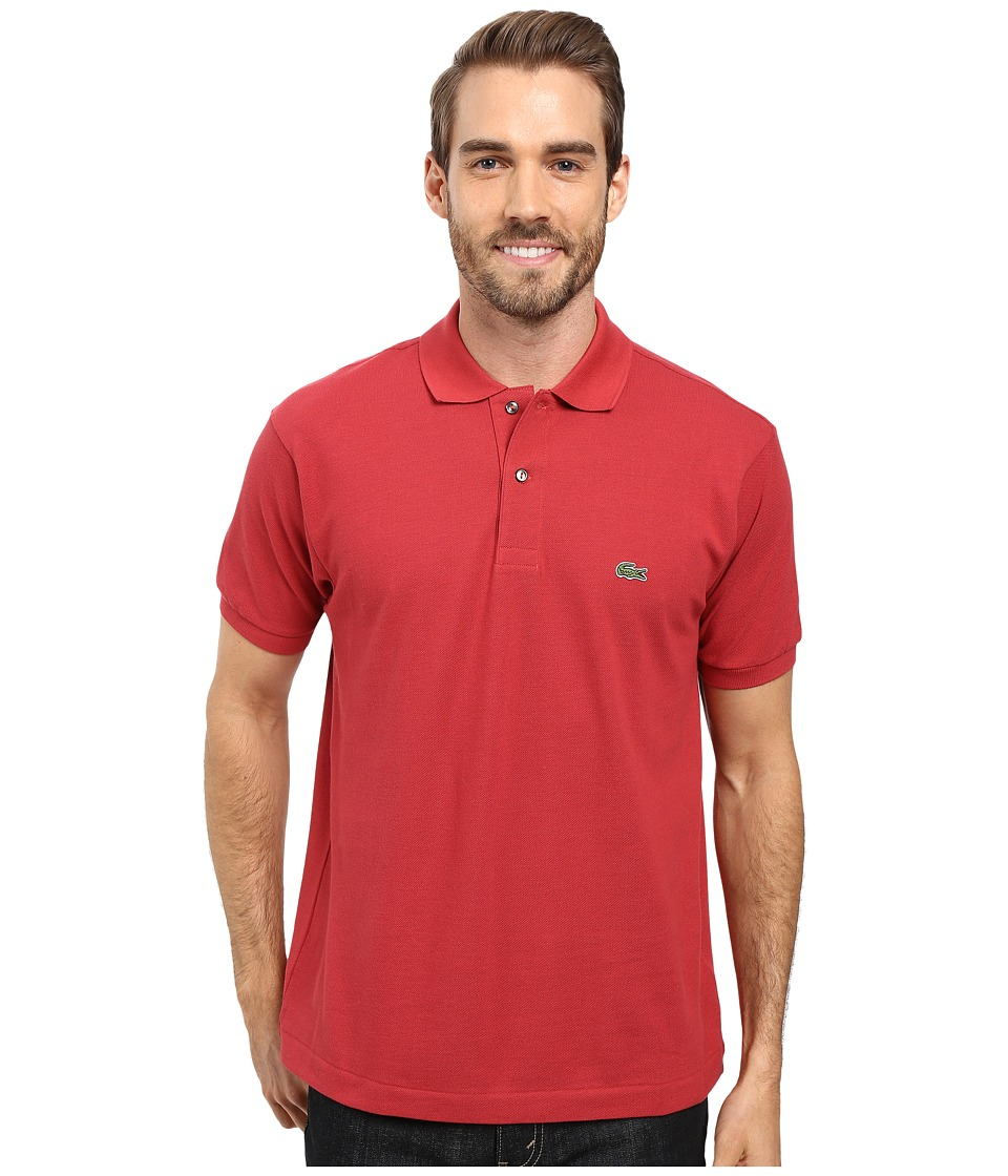 Lacoste - L1212 Classic Pique Polo Shirt (Intense) Men's Short Sleeve Knit