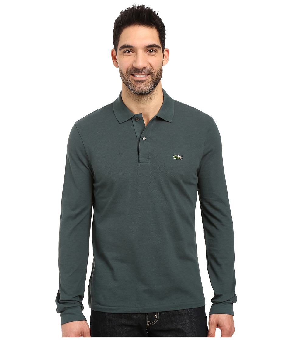Lacoste - L/S Classic Pique Polo (Bronze) Men's Long Sleeve Pullover
