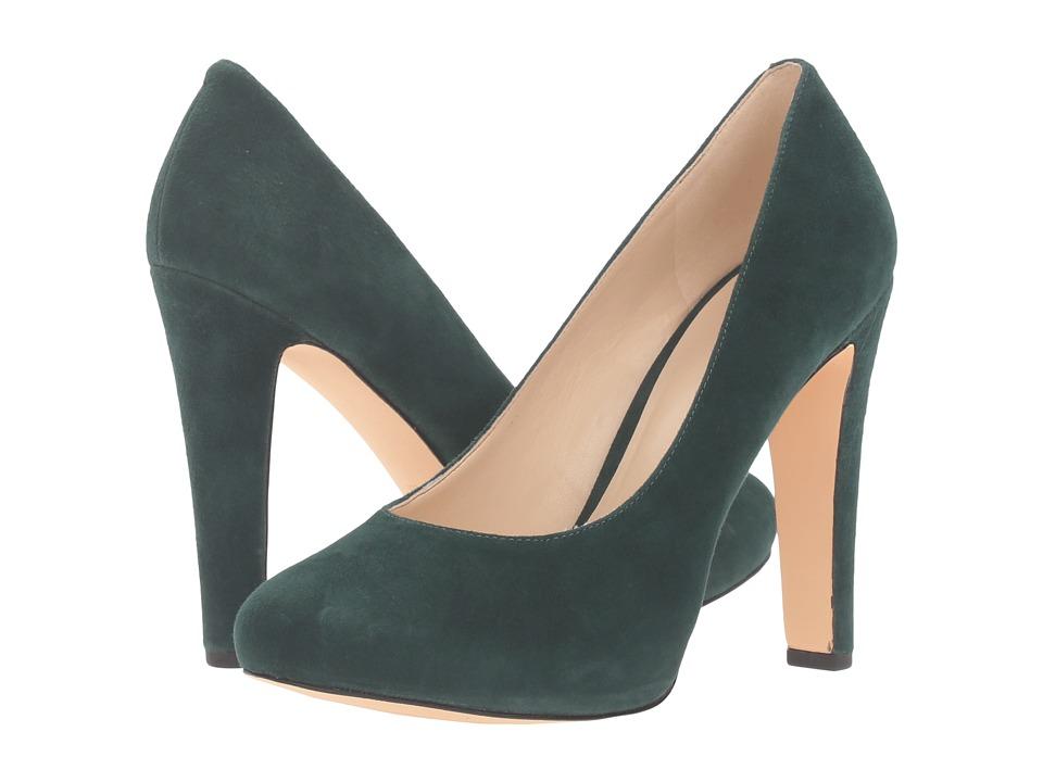Nine West - Brielyn (Dark Green Suede) Women's Shoes