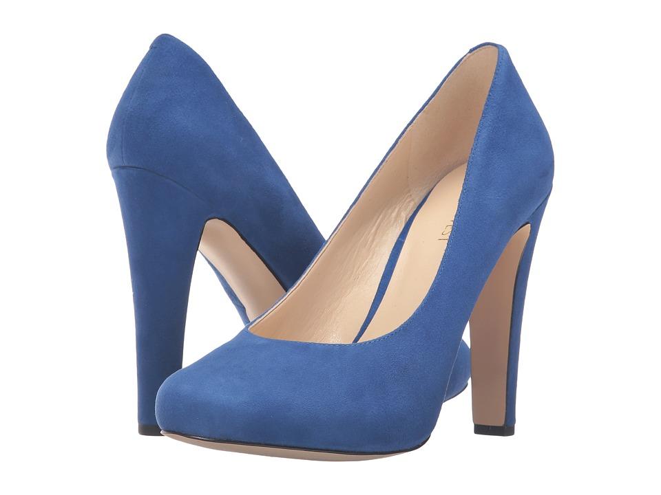 Nine West - Brielyn (Blue Suede) Women's Shoes