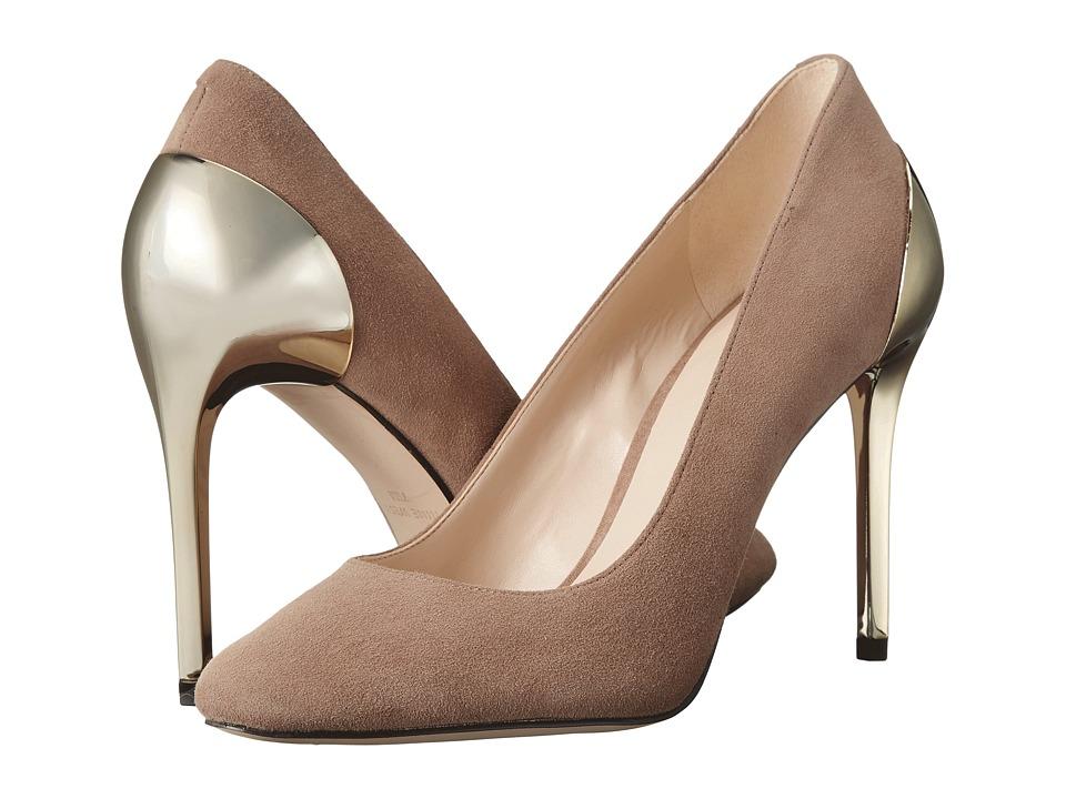 Nine West - Yellia (Natural Suede) High Heels