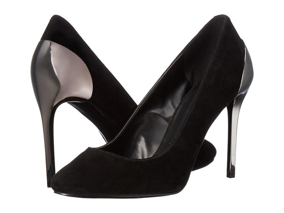 Nine West - Yellia (Black Suede) High Heels