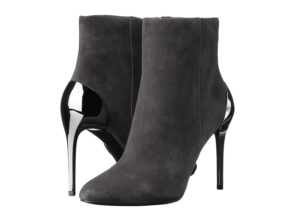 Nine West - Yesday (Dark Grey Suede) Women's Shoes