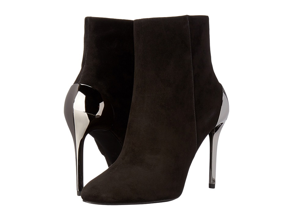 Nine West - Yesday (Black Suede) Women's Shoes