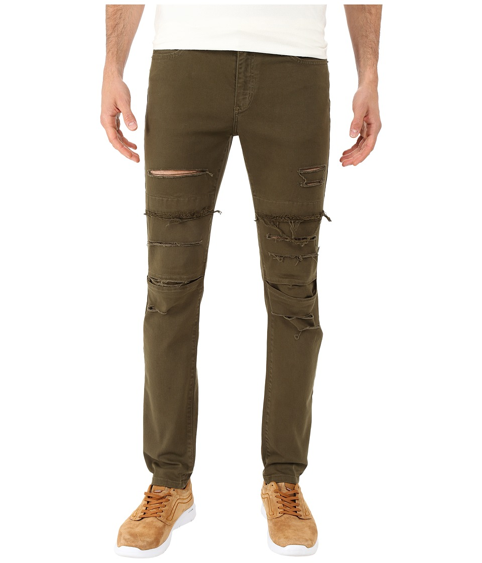 Rustic Dime - Dime Denim in Olive (Olive) Men's Jeans