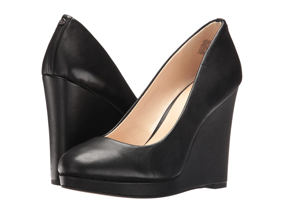 Nine West - Halenia (Black Leather) Women's Shoes
