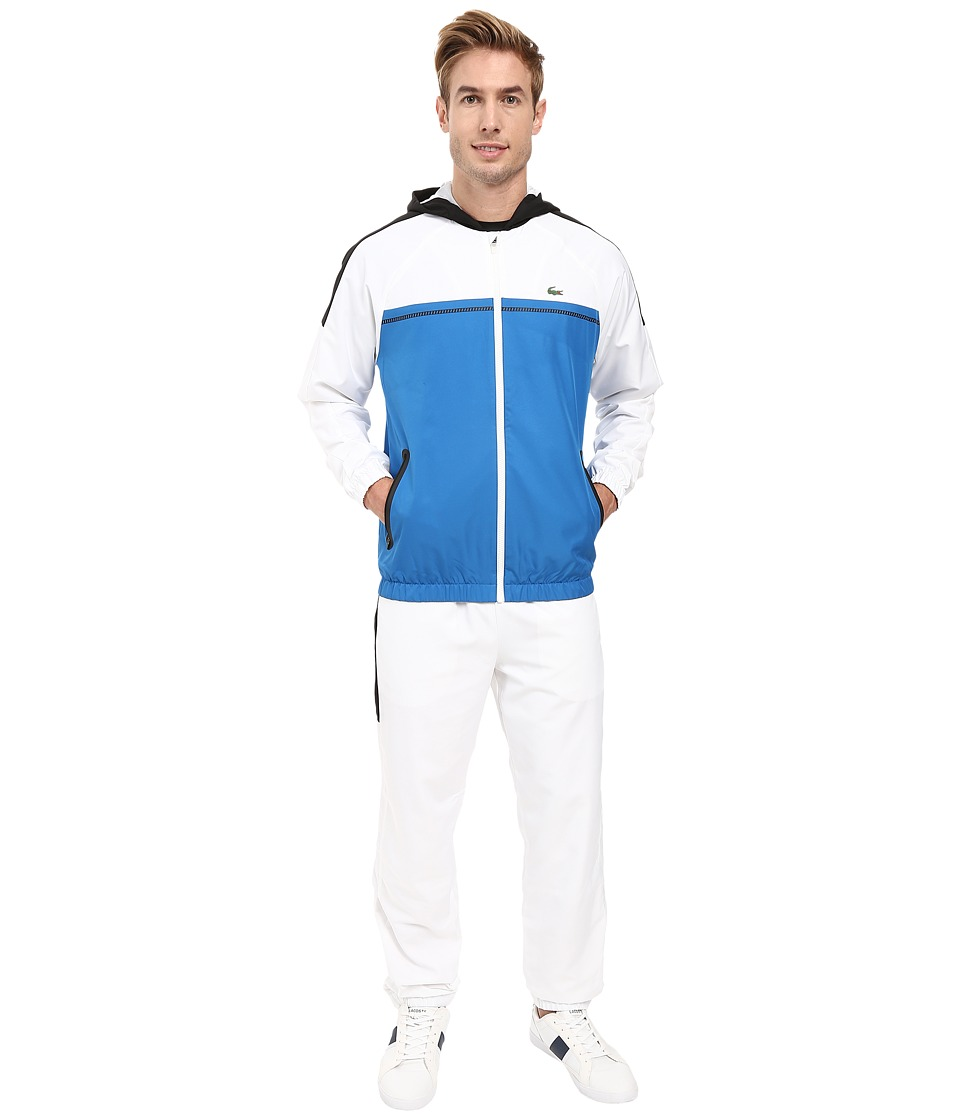 Lacoste - T2 Color Block Track Suit (Ink/White/Black) Men's Workout Sets