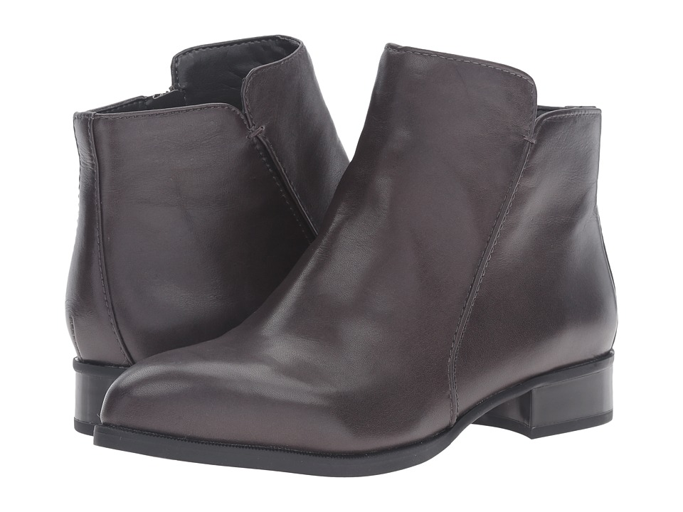 Nine West Norabel Dark Grey Leather Womens Boots
