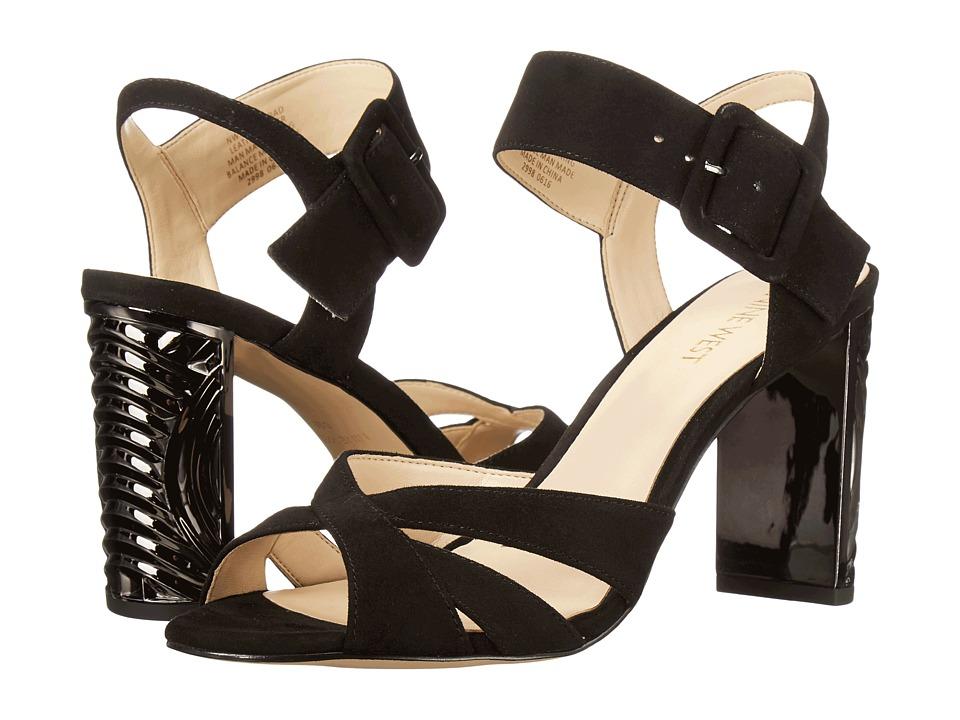Nine West - Crossroad (Black Suede) Women's Shoes