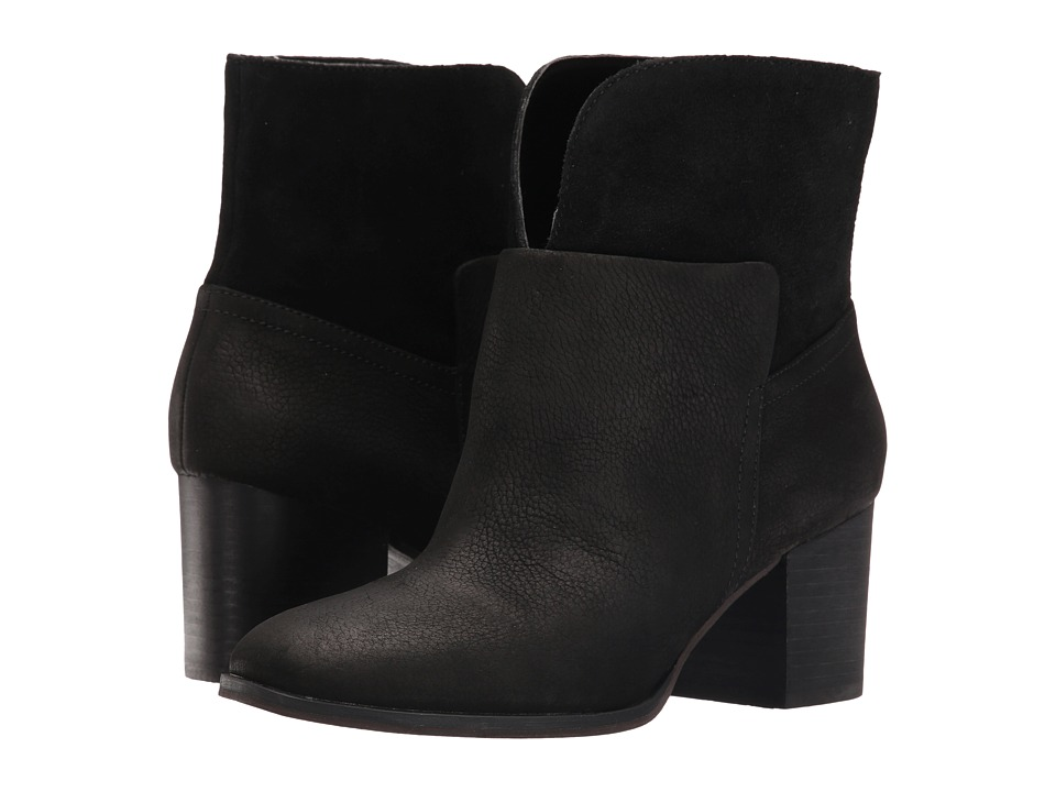 Nine West - Dale (Black/Black Nubuck) Women's Boots
