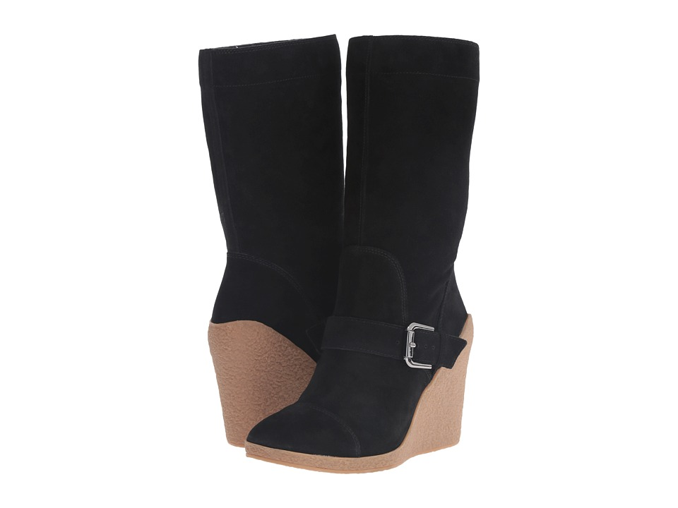 Nine West - Darren (Black Suede) Women's Boots