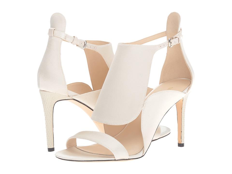 Nine West - Denita 2 (Off-White Satin) High Heels