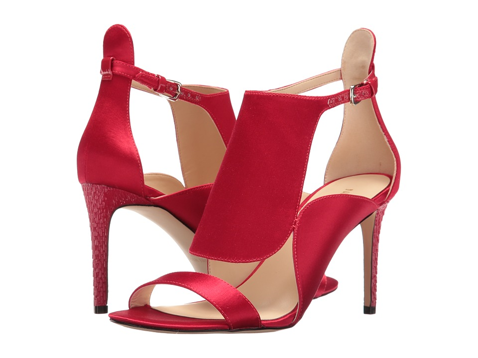 Nine West - Denita 2 (Red Satin) High Heels