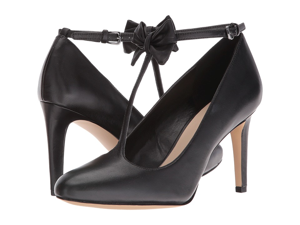 Nine West - Hollison (Black Leather) High Heels