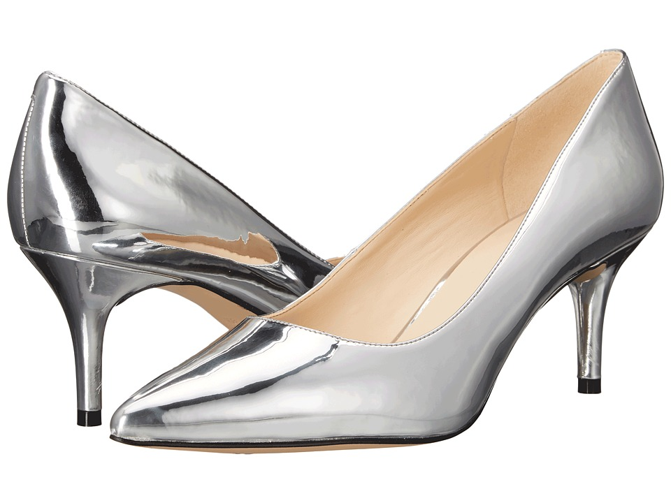 Nine West - Margot (Silver Synthetic) High Heels