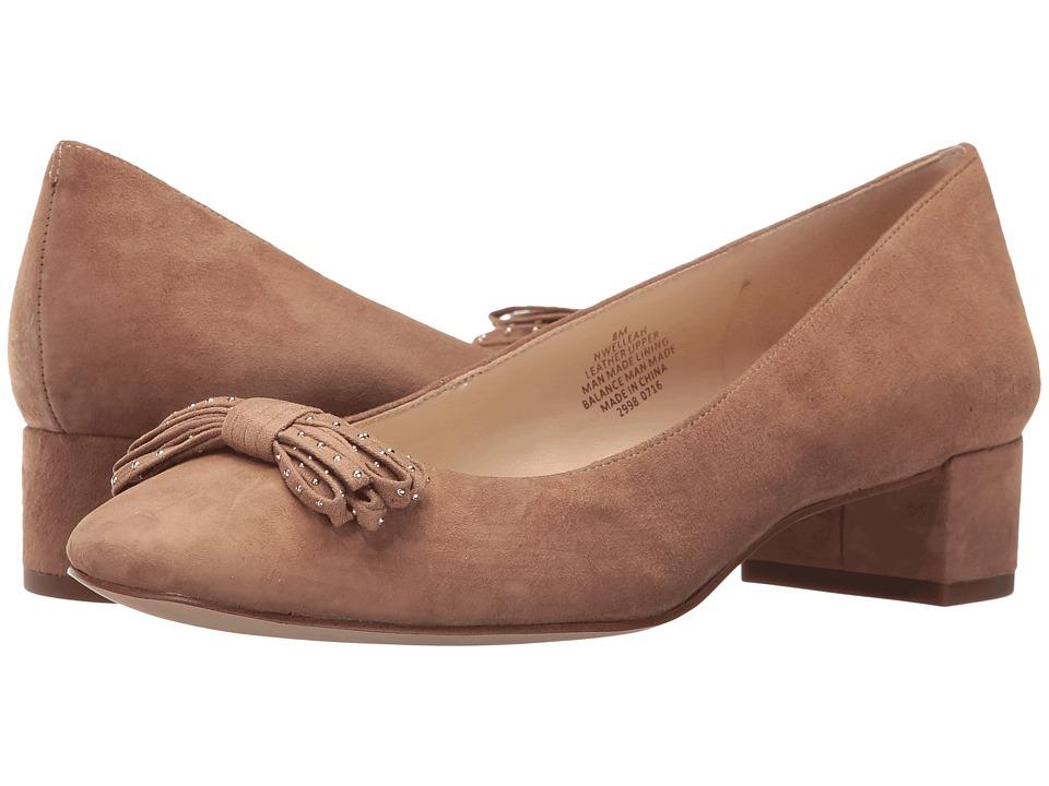 Nine West - Elleah (Natural/Natural Suede) Women's Shoes